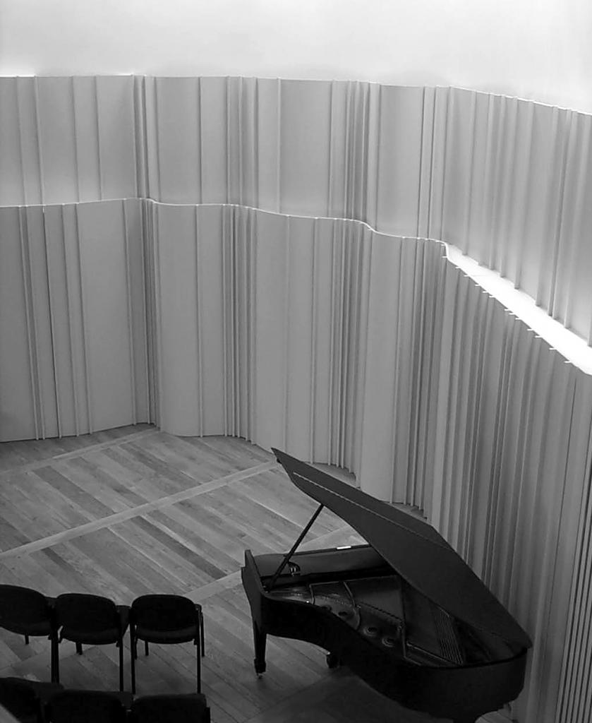Music recital room